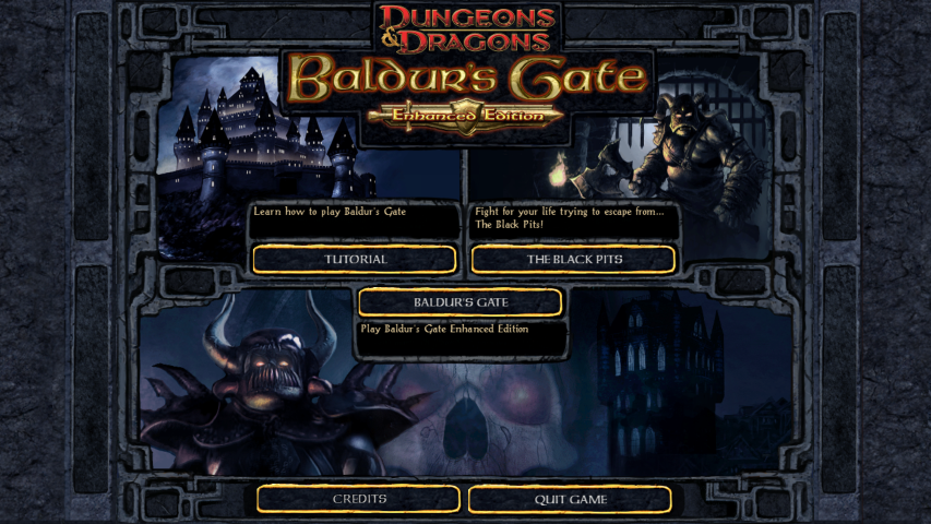Baldur's Gate II Enhanced Edition Screen Shot 2