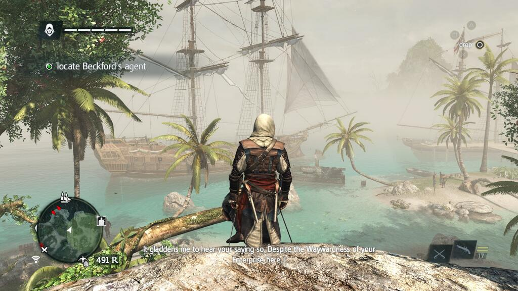 Assassin S Creed Iv Black Flag Ps4 Minigame Reviews Independent Game Review Website