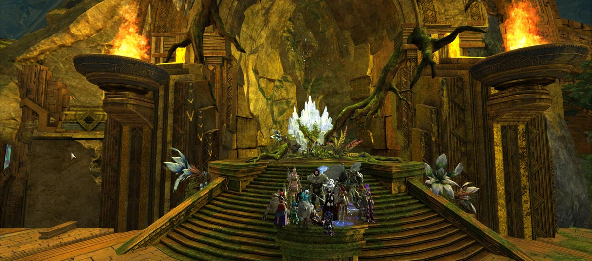 Captured A Guild Hall Yay! Guilded Hollow 1