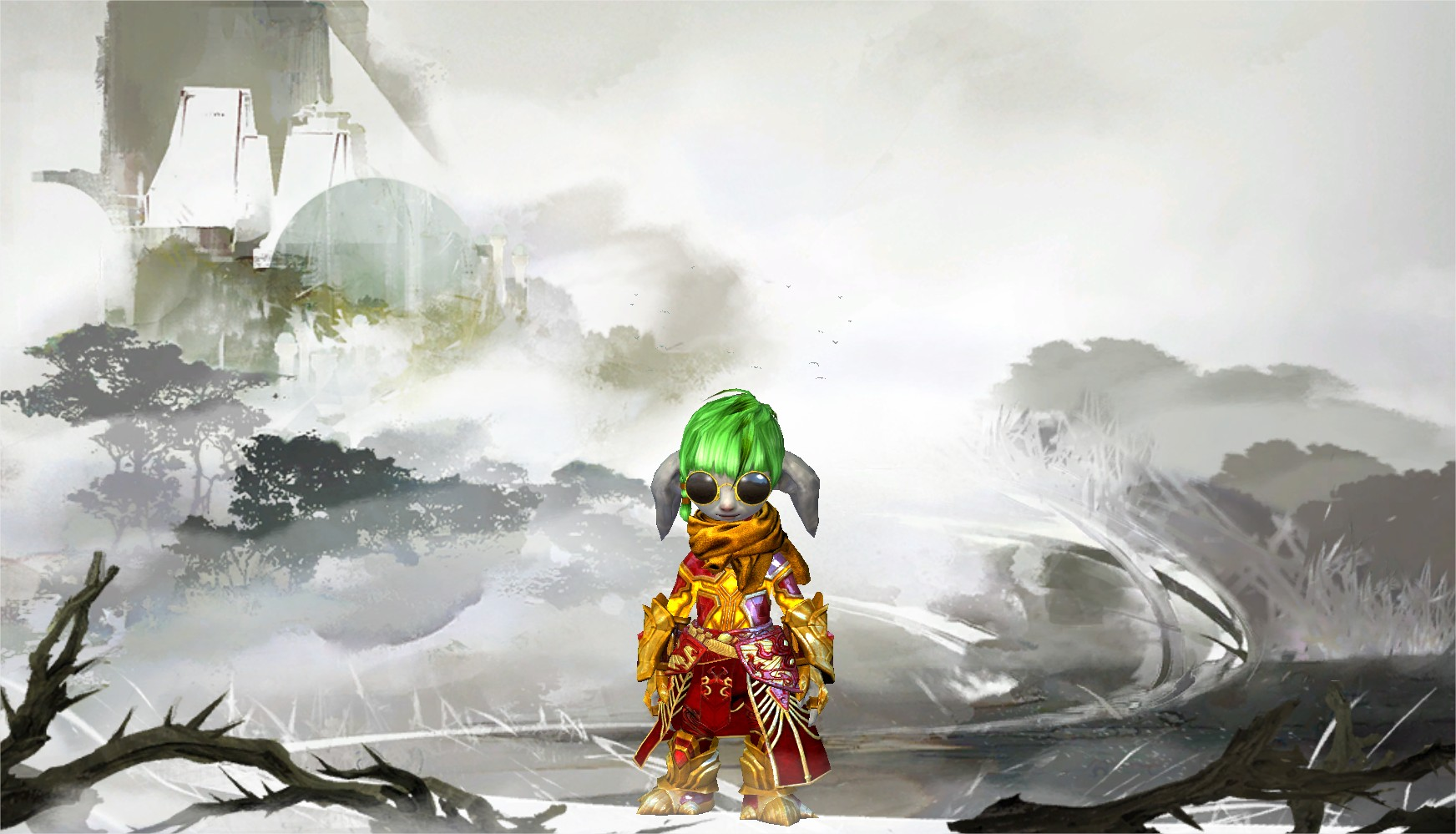 Guild Wars 2 Heart Of Thorns – Character Selection Screen