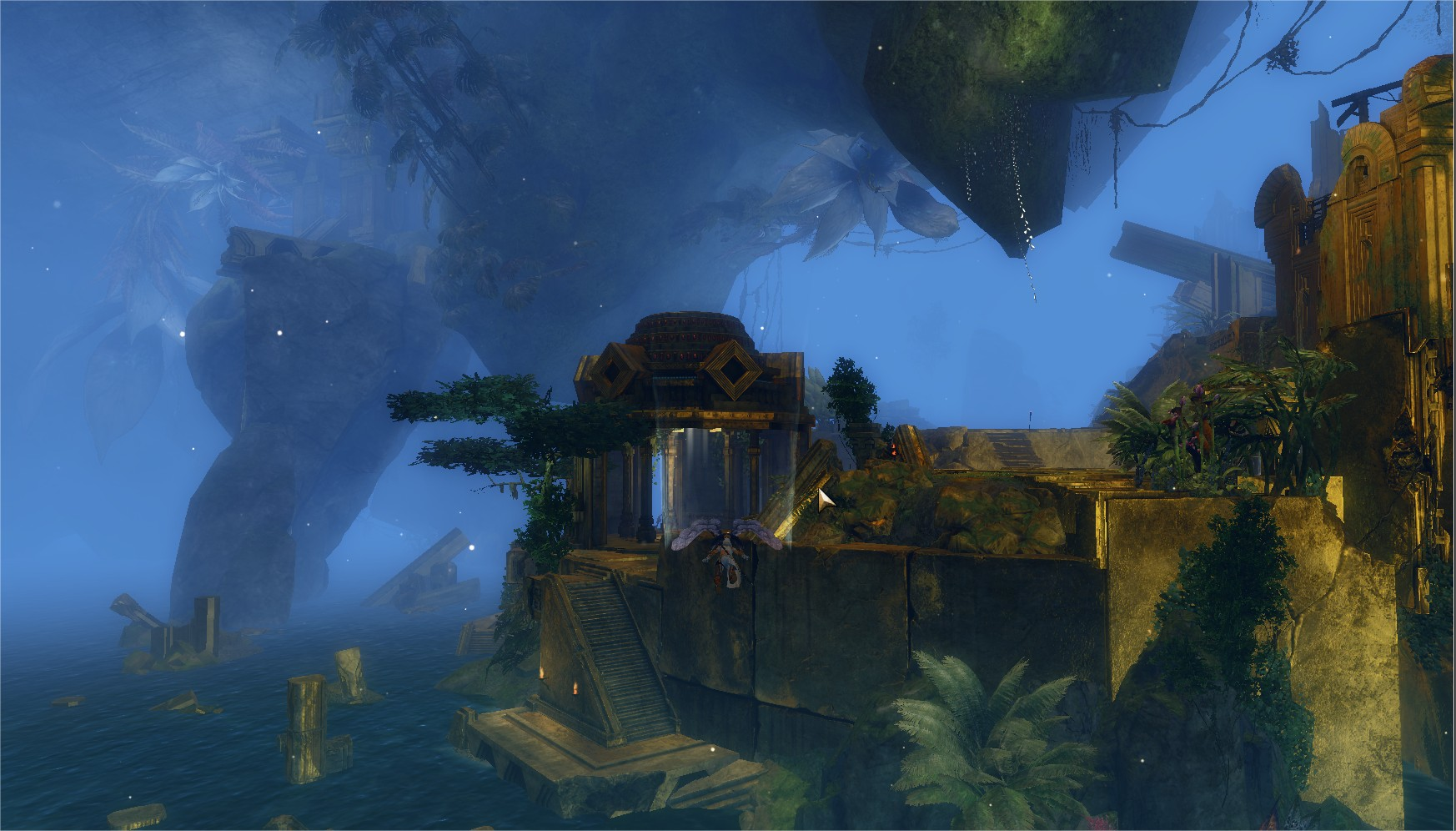 Guild Wars 2 Heart Of Thorns – Gliding In The Guild Hall Some More