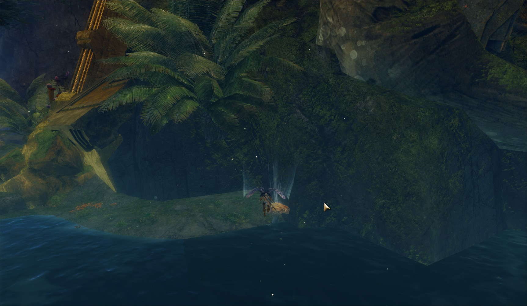 Guild Wars 2 Heart Of Thorns – Gliding In The Guild Hall