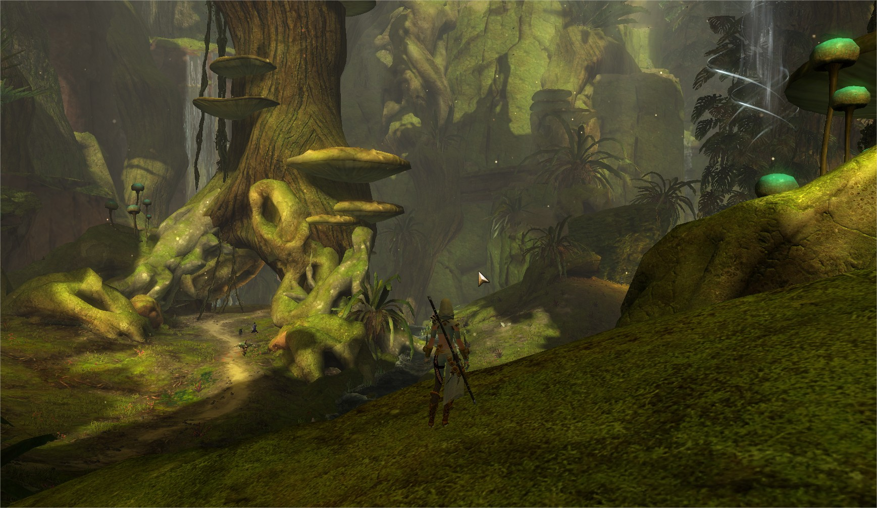 Guild Wars 2 Heart Of Thorns – One Of The Lovely New Maps